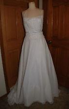 WHITE BRIDAL ORIGINALS STYLE 3363 BRIDALGOWN HALLOWEEN COSTUME DRESS SIZE 10