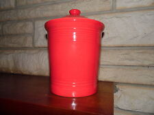 Fiesta Medium Canister in Scarlet  with Lid   NEW Never Used Fiestaware