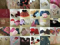 Girls Clothes Lot 18-24 mo Huge 48 pc Fall Winter Gymboree Childrens Place GAP