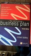 2 finance books: Definitive Business Plan; How to read financial pages RRP £25+