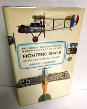 BOOK Fighters Attack and Training Aircraft 1914-1919 by Kenneth Munson HB/dj op