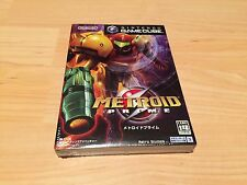 Metroid Prime (Nintendo GameCube, 2002) - Japanese Version Factory Sealed New