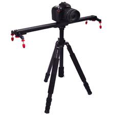 100cm cámara dolly track DSLR slider Rail System video estabilizador Max: 10 kg