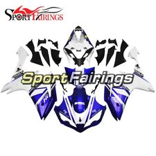 Fairings For Yamaha YZF1000 R1 04-06 2004-2006 Injection ABS White Blue Hulls