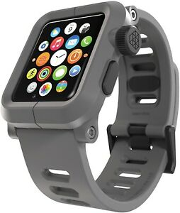 LUNATIK - EPIK 004 Case And Silicone Band For Apple Watch 42mm - Gray