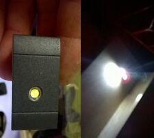 LAMPADA LUCE DI EMERGENZA LED 1W COMPATIBILE BTICINO LivingLight NERO ANTRACITE