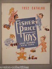 Fisher-Price CATALOG - 1952 ~~ with Envelope ~~ toy, toys ~~ nice condition