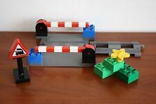 Lego Duplo Train Set 3773-1 Level Crossing - Bluish(new) Gray Color