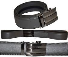 "Real Leather Men's Belt. (L) Automatic lock. Dress & Casual belt. Fashion belt""."