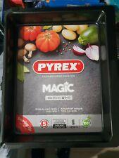 Pyrex Magic Rectangular Oven Non Stick Tray Roaster Cookware Bakeware - 40cm