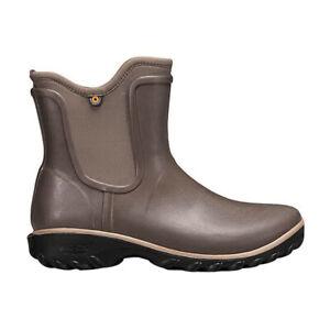 Bogs Womens Sage Rubber Sauvie Slip-On Waterproof Boots 72203-216--6US