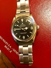 ROLEX OYSTER PERPETUAL MOD. 5500 EXPLORER 1016 DIAL 7205 OYSTER BAND SS 4-64