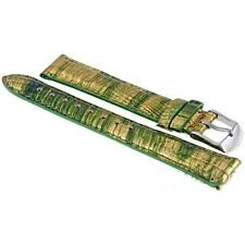 MICHELE 16 MM Gold Multi Fashion Lizard Strap MS16AA610837 $140.00