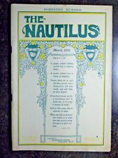 The Nautilus, March 1910, New Thought Magazine, Elizabeth Towne (ed)