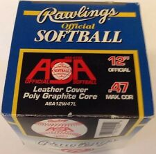 "Rawlings Official Softball 12"" .47 Max Cor"