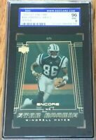 Windrell Hayes 2000 Upper Deck Encore Rookie Card RC graded SGC 96 MT BGS PSA 9