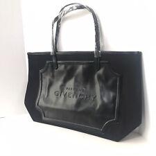 NEW Givenchy Parfums Black Tote Ladies Shopping Handbag Shoulder Bag. Snap Close