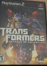 Transformers: Revenge of the Fallen (Sony PlayStation 2) complete
