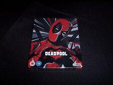 Deadpool (Zavvi / Glossy Pop Art) 4K + Blu-Ray Steelbook [Sealed + Mint]