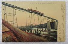 1905 POSTCARD R W & O RAILROAD TRAIN ON BRIDGE ROCHESTER NEW YORK #2V