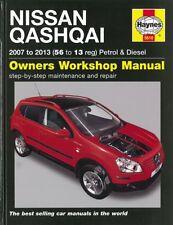 Haynes Handbuch: Nissan Qashqai ab2007 Reparaturanleitung/Reparatur-Buch/Wartung