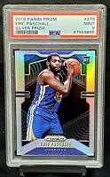 2019 Prizm SILVER REFRACTOR RC Warriors ERIC PASCHALL Rookie Card PSA 9 MINT