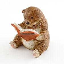 Miniature  Baby Bear Reading TO 4454 Fairy Garden  Terrarium