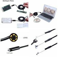 10M Inspection Camera Android OTG UVC Endoscope for Surveying Car Equipment Pipe