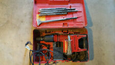 Hilti Tp 800 Demolition Chipping Hammer Drill with Chisels + Case
