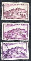 VARIÉTÉ-- N°: 759- Vezelay- ( LES TROIS NUANCES DE LILAS ) oblitérés
