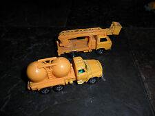 2 LOT TOMICA TOMY Japan No 16 Nissan DIESEL Chemical Truck 1/102 & Nissan Caball