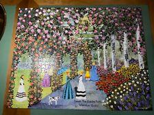 Mattel Artist Jane Wooster Scott - Down The Garden Path - 1000 Piece Puzzle