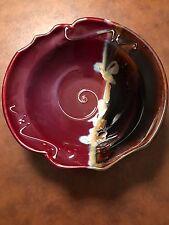 Stunning Signed Handmade Porcelain Bowl Studio Art Pottery