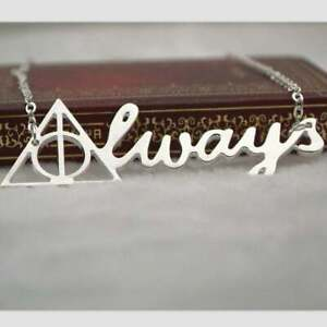 Always Silver Necklace Harry Potter Costume Jewellery Gift UK