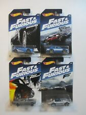 Hot Wheels HW FAST & FURIOUS SUBARU WRX STi ROAD RUNNER GRAND SPORT ESCORT SET