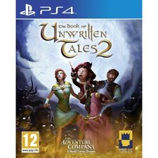 BRAND Book of Unwritten Tales 2 PlayStation 4 Ps4 Game