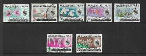 Malaya (Negeri Sembilan) 1965 Set 7 used Sold as Per Scan.