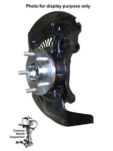 04-09 Kia Spectra Left Front Knuckle Assy, without ABS, Hub Wheel Bearing 510078
