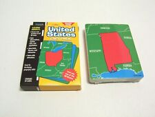 United States Fact Pack 50 Flash Cards Home School Geography Capitals Sealed