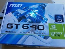 MSI GeForce GT 640 DirectX 11 N640GT-MD2GD3 2GB 128-Bit DDR3 PCI Express 3.0