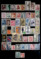 CZECHOSLOVAKIA: 1940'S - 70'S STAMP COLLECTION