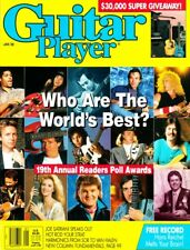 Guitar Player Magazine January 1989 Readers Awards, Hans Reichel FREE Record