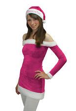 TUSSI on TOUR X-MAS DRESS Weihnachten Karneval Kleid Mütze Größe L pink weiß NEU