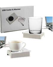 USB Getränker Wärmer & Kühler Tassenwärmer Tassenkühler Geschenkidee GADGET