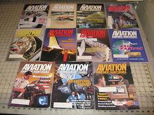 11 AVIATION EQUIPMENT MAINTENANCE Magazines Lot - Scattered Dates