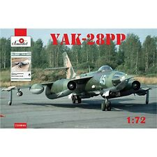 YAKOVLEV YAK-28PP + BOOK 'YAK-28PP REW AIRCRAFT' 1/72 AMODEL 72108-01