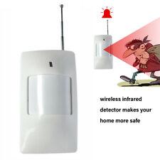 Wireless Infrared Detector Alarm PIR Motion Sensor For 433MHz Wifi/GSM/PST