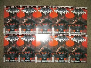 WHOLESALE LOT 9 BATMAN 83 CITY OF BANE - DARK KNIGHT RISING - NM+