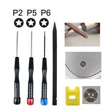 Precision Pentalobe Screwdriver Set P2 P5 P6 5-Point 5-Star 0.8 mm, 1.2 mm & 1.5