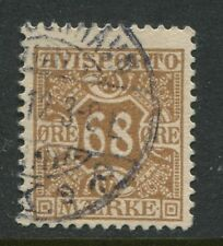 Denmark 1907 68 ore Newspaper stamp CDS used